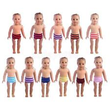 Doll Clothes Striped Underwear Knickers Briefs for 18'' American Girl Dolls