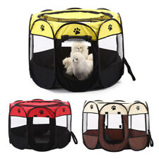 Breathable Pet Travel Carrier Foldable Portable Pet Outdoor Crate Kennel