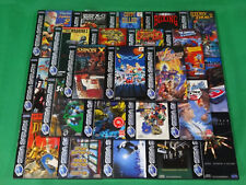 Sega Saturn CD Boxed Collection *Choose Yourself*