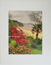 "Tenby ""Northbeach to Monkstone Point"" Limited Edition Mounted  Print"