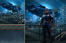 POSTER BACKDROP/SET~CAPTAIN AMERICA~HYDRA FOR 1/6 HOT TOYS FIGURE MMS242 MMS241