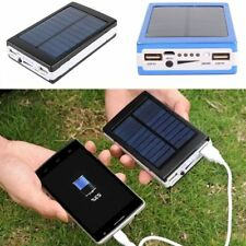 50000 mAh Solar Charger Dual USB Battery Power Bank Battery Charger Cell Phone
