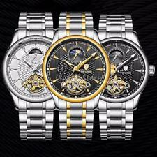 TEVISE Men 3ATM Waterproof Automatic Mechanical Luminous Moonphase Wrist Watch