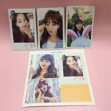 Twice JIHYO 지효 Official Photocard 1st Album Twicetagram LIKEY Photo Card SELECT