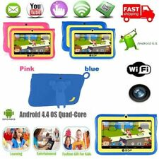 "7""Google Android 4.4 Quad Core 4GB Kids Tablet PC Dual Camera 1.3GHz WiFi WS"