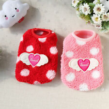 XXS Teacup Dog Clothes Tiny Yorkie Chihuahua Pet Coat Cat Puppy Sweater Shirt