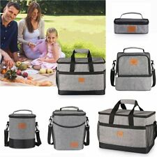 Tote Cold Insulated Lunch Bag Thermal Cooler Travel Picnic Food Safe Container S