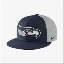 NWT NFL SnapBack Seattle Seahawks Nike Adjustable Size Cap - Blue/Grey/Green