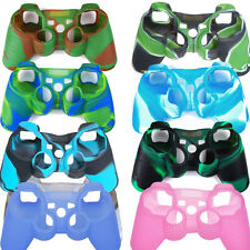 New Silicone Rubber Skin Cover Protective Case For Playstation 3 PS3 Controller