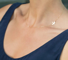 Fashion Tiny Peace Bird Dove Flying Swallow Chain Necklace For Women & Girls