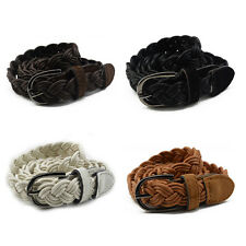 Belt Braided People's Genuine Leather Casual Belt Different Colors*~*