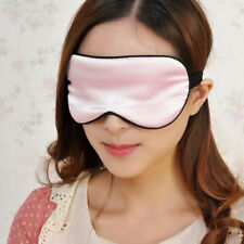 Sleep Blinder Eyepatch Soft Eyeshade Sleeping Shade Eye Mask Pure Silk Goggles