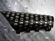 LEATHER GAUNTLET WITH ROUND STUDS ...HEAVY METAL....(MDLG0141)..... KISS
