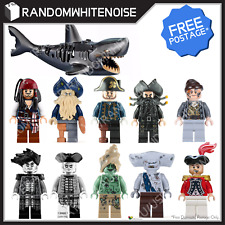 NEW Pirates of the Caribbean LEGO Compatible Minifigures Jack Sparrow Salazar