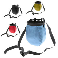 Durable Chalk Bag Drawstring Closure for Climbing Gymnastics Weight Lifting