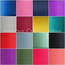 10 METERS x 75mm  SOLID GROSGRAIN RIBBON - 3 INCH - Bows & Crafts - 46  COLOURS