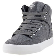 Supra Vaider Wool Mens Trainers Charcoal New Shoes