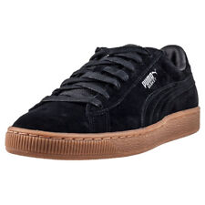 Puma Basket Classic Weatherproof Mens Trainers Black Silver New Shoes