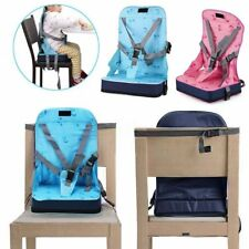 Kid Baby Dining Chair Highchair Seat Harness Bag Cushion Pad Booster Portable SM