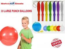 PUNCH BALLOONS ASSORTED LARGE PARTY LOOT GOODY BAG FILLERS FAVOURS PINNATA TOYS