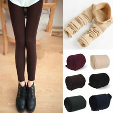 Womens Warm Winter Thick Skinny Slim Footless Leggings Stretch Pants New 3lengWH