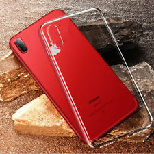 iPhone X 6 6s 7 8 Plus Case Cover Crystal Clear Soft Flexible Thin TPU Skin Case