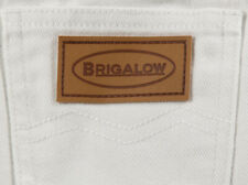 New Unisex Kids White Regular Rise Western Boot Cut Jeans - 1014White Jeans Brig