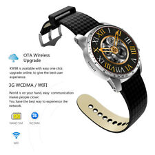 KW99 3G Android Smart Wrist Watch 8GB Bluetooth Heart Rate SIM Phone GPS WIFI