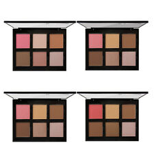 6 Colors Blush Palette Highlight Bronzer Contour Powder Makeup Cosmetic