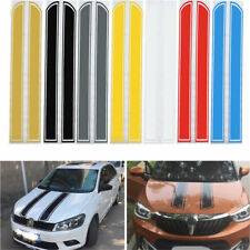 2x Universal Car Decal Stripe Vinyl Auto SUV Hood Cover Sticker Badge Decoration