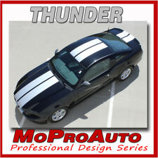 THUNDER Racing Rally Stripes Decals Graphics Pro 3M Vinyl R4 2013 Ford Mustang