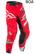 FLY RACING EVOLUTION 2.0 MOTO PANT RED GREY WHITE SIZE 32 371-23232