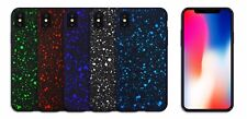For iPhone X  Cover Luxury Bling Glitter Hard star protective Shockproof Case