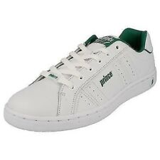 Mens Prince Lace Up Tennis Shoe - Classic