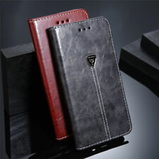 Flip Wallet Case Card Slot Magnetic Shockproof Leather + Gel Cover For Samsung E