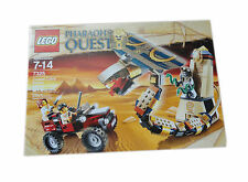NEW SEALED 2011 LEGO Pharaoh's Quest Cursed Cobra Statue #7326 3 minifigs SCARAB