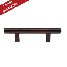 "KPT ST1476 5"" Solid Stainless Steel T-Bar Cabinet Hardware Pulls-14mm Diameter"