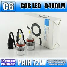 9400LM Led Headlight Kit Headlamp Bulbs Lamp Car 72W H1 H3 H4 H7 9005 9006 Pair