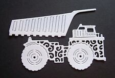 """TATTERED LACE, BOY, VEHICLE DIE CUT TOPPERS ~ """"DUMPER TRUCK"""""""