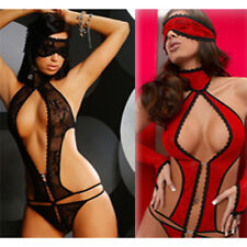 Women Fashion V neck Jumpsuits Sexy lady's Pajamas Hot Sexy Lingerie*~*