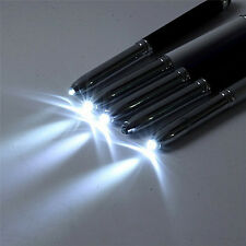 3 in 1 Touch Screen Stylus Ballpoint Pen With LED Flash Light For iPad Iphone*~*