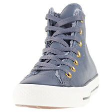 Converse Chuck Taylor All Star Hi Fur Womens Grey Walking Trainers New Style