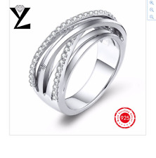 New Noble Jewelry Ring Silver 925 Rings Fashion Trendy Wedding Engagement  Rings