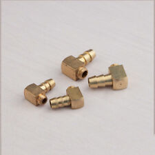2PCS 90 Degree Brass M5 / M6 Threaded Water Nipple for RC Boat