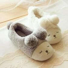 Warm Winter Women's Home Slippers Cute Sheep Indoor House Bedroom Plush Shoes