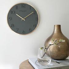 NEW London Clock Company Elvie Wall Clock Women's by PS Home and Living