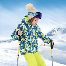 New Kids Girls Ski Suit Snow Suit 2-Piece Ski Jacket Coat and Snow Bib