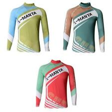 Men's Diving Surfing Swimming Suit Long Sleeve Rash Guard Top UV Protection