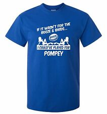 PORTSMOUTH FANS THEMED BOOZE AND BIRDS T-SHIRT