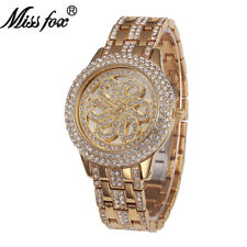 Fashion Womens Bracelet Watch Luxury Diamond Rhinestone Female Quartz Watches